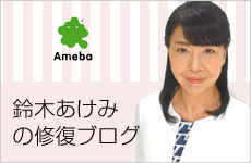 鈴木あけみの修復ブログ